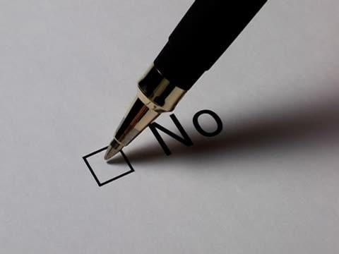 I said No! video