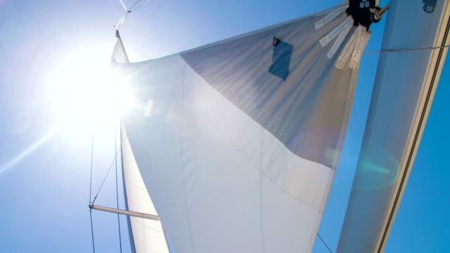 ms td segeln segelboot - segeln stock-videos und b-roll-filmmaterial