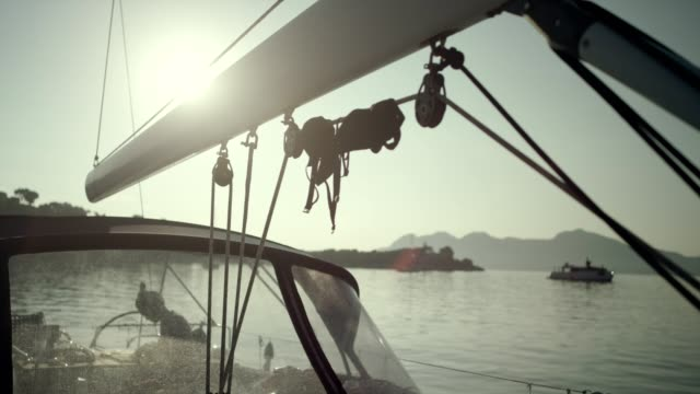 Sailing boat boom