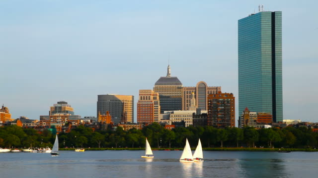 Sailing in Boston video