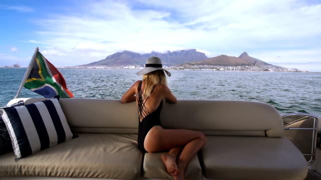 Sailing into the Cape video