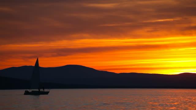 Sailing on Lake Champlain video