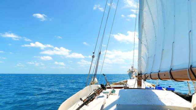 Sailing on the Caribean Sea video
