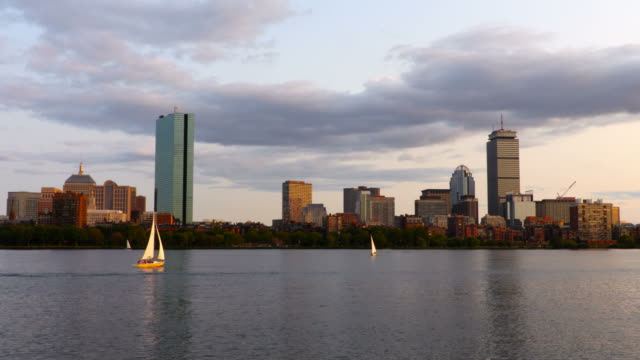 Sailing on the Charles River in Boston video