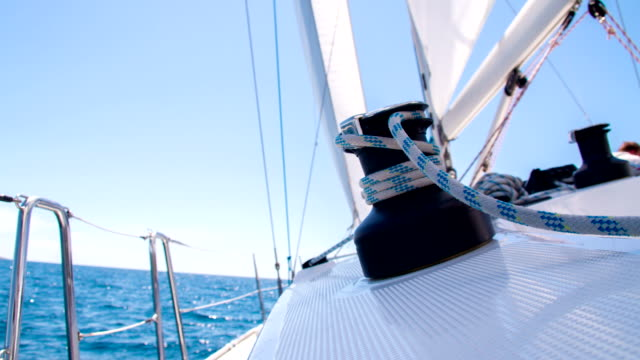 MS Sailing On The Open Sea video