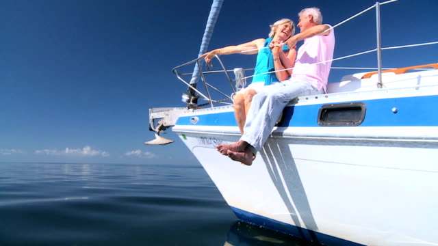 Sailing Seniors on Luxury Yacht video