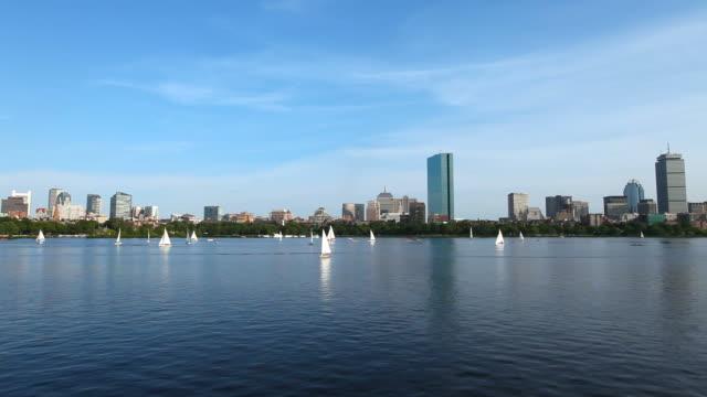 Sailing the Charles River, Boston video