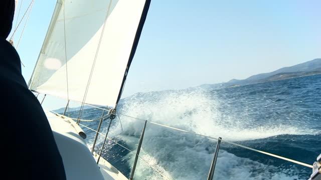 HD SLOW MOTION: Sailing The Seas video