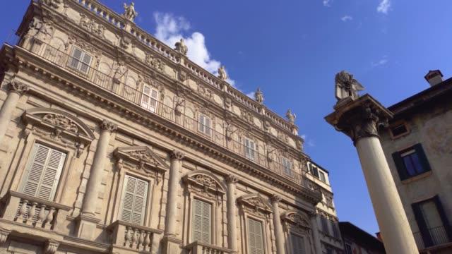 Saint Mark lion in Piazza delle Erbe in Verona 3