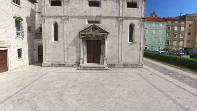 Saint Mary church and monastery in Zadar, Croatia video