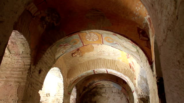 Saint Nicolas church in Myra, old name - Demre, Turkey video