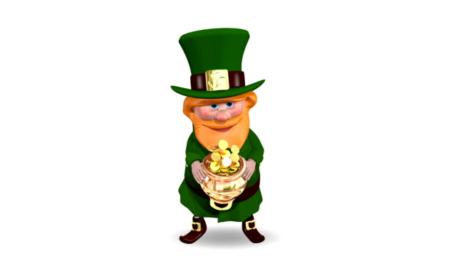 Saint Patrick Pot with Coins video