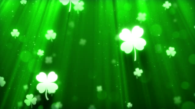 Saint Patricks día de fondo - vídeo