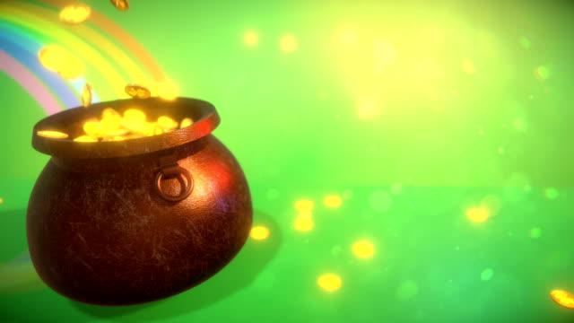 聖パトリックの日の背景 ビデオ