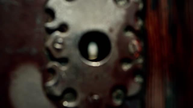 Saint Peter Basilica through a keyhole in Rome video