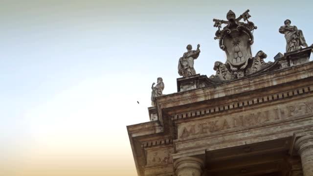 Saint Peter's Square in Vatican, Rome video