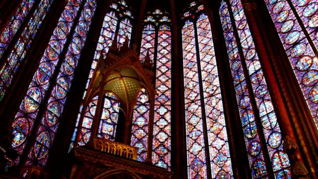 Sainte chapelle in Paris video