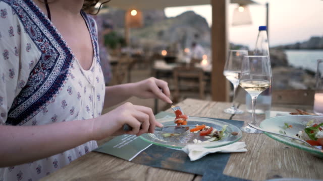 Salada com vista - vídeo