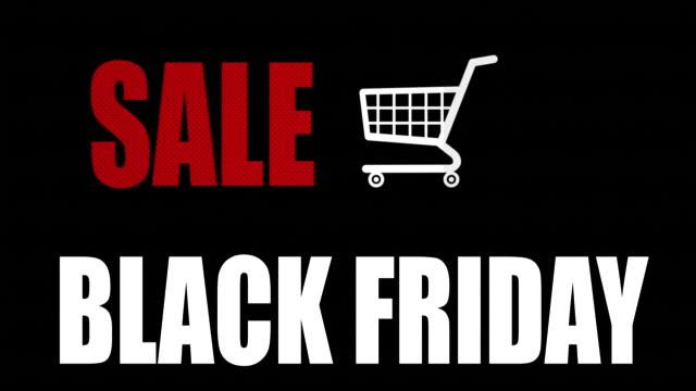 Sale Black Friday Animation video