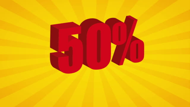 Sale icon  design, Video Animation video