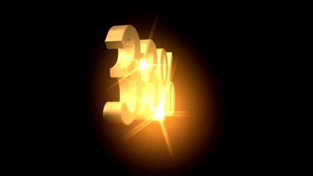 33% vendita offerta - 30 34 anni video stock e b–roll