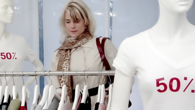 Sales Shopping Woman video