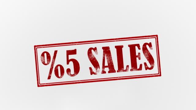 5% sales