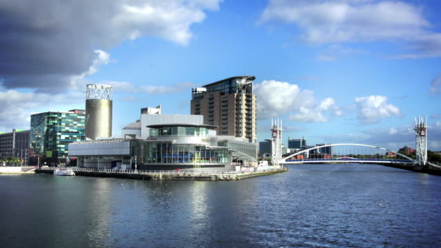 Salford Quays, Manchester, UK video