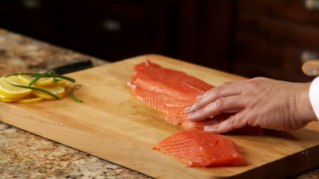 HD Salmon Fillet video