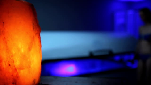 salt lamp sensory deprivation tank video
