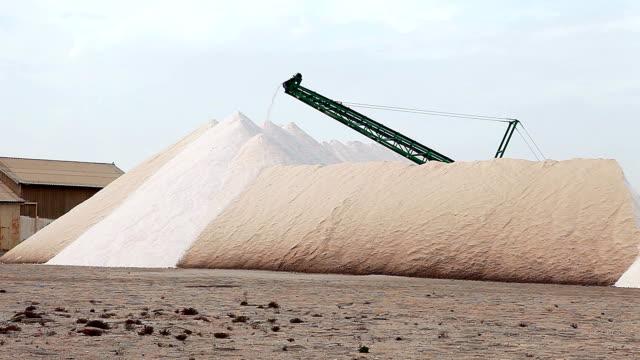 miniere di sale di cabo de gata - salt video stock e b–roll