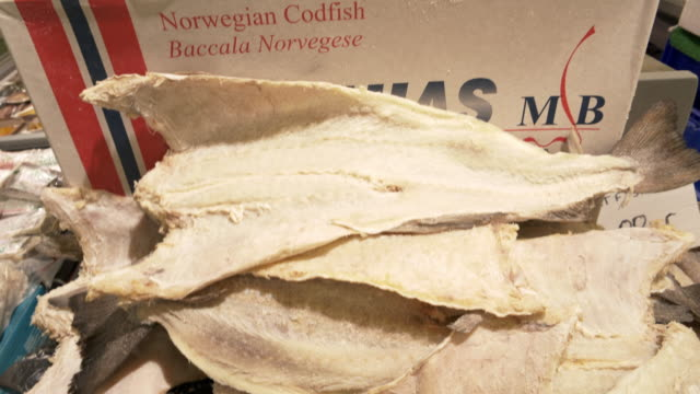 Salted Norwegian Cotfish for Sale at British Fish Market