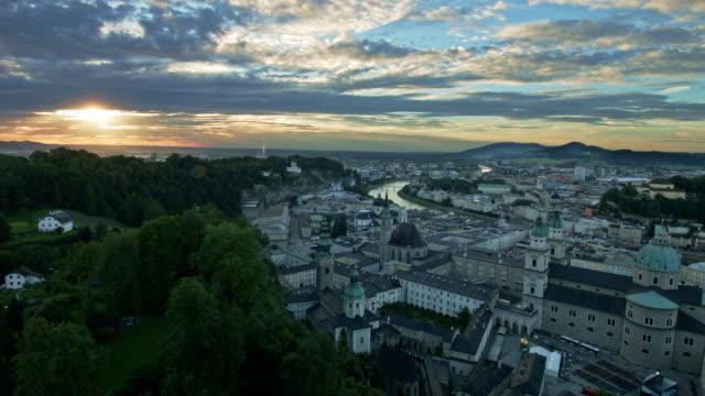 salzburg natt se, time-lapse - videor med salzburg bildbanksvideor och videomaterial från bakom kulisserna