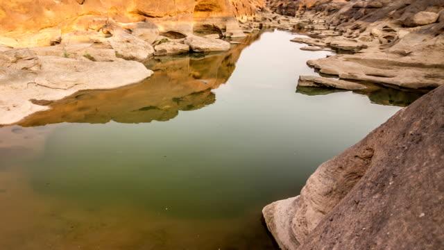 vídeos de stock, filmes e b-roll de sam phan couve-o grand canyon da tailândia - característica arquitetônica