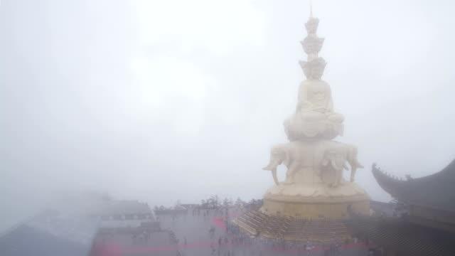 Samantabhadra Bodhisattva statue video