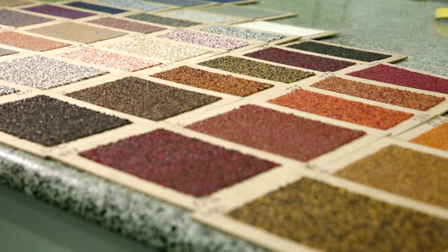 Sample color of roofing material video