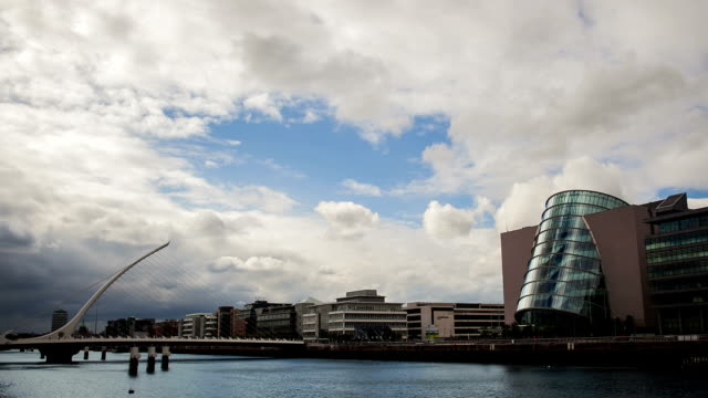 Samuel Beckett Bridge video