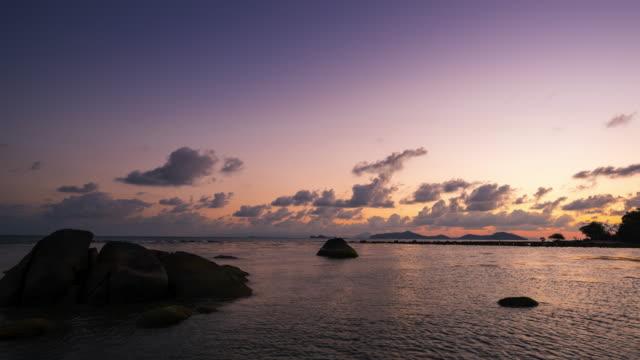 T/L PAN Samui island sunset video
