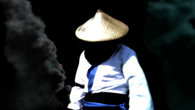 samurai fighting with ninjas ninja stock videos & royalty-free footage