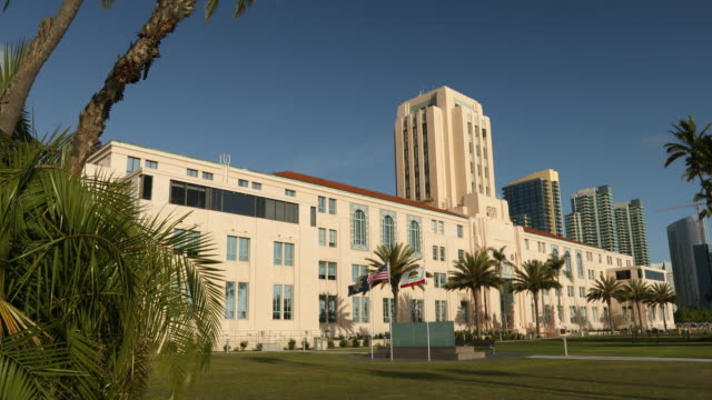 San Diego Government Building video