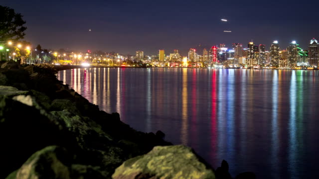 San Diego Skyline Time Lapse video