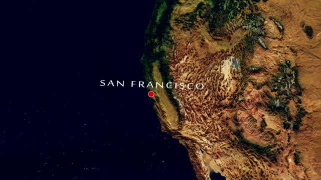 San Francisco 4K  Zoom In video