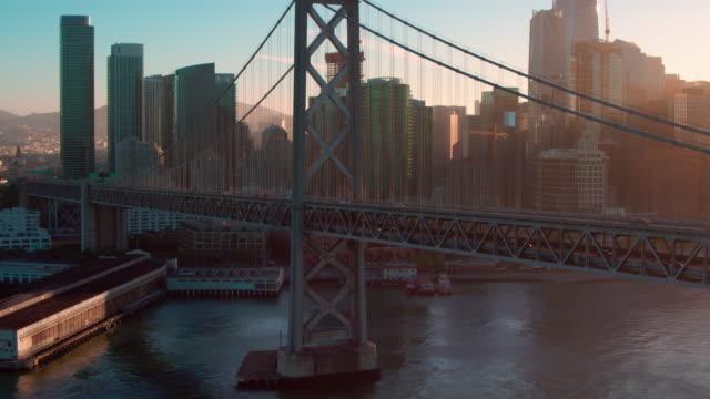 San Francisco Aerial Bay Bridge