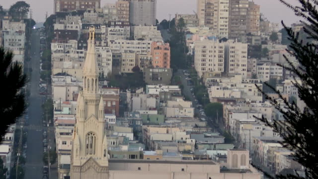 San Francisco - Architecture at Russian Hill video
