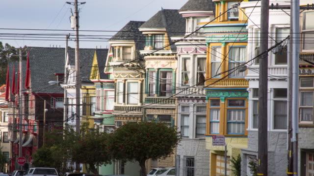 San Francisco Architecture on Haight Street video