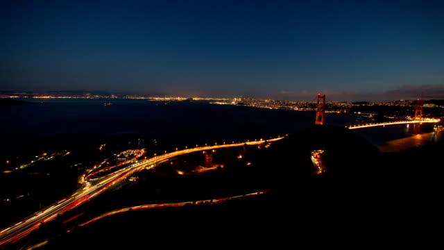 San Francisco Bay Area Sunset video