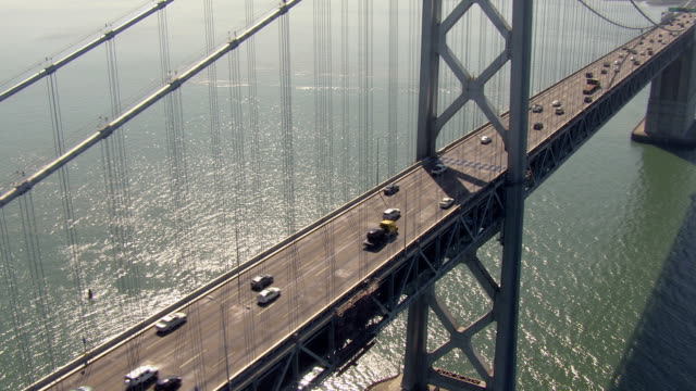 San Francisco Bay Bridge Aerial