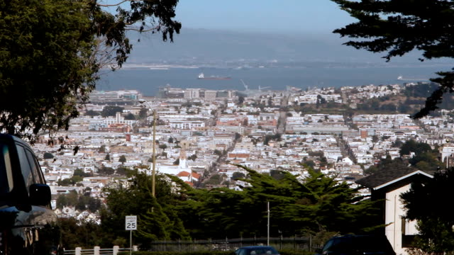 San Francisco Bay Overlook HD video