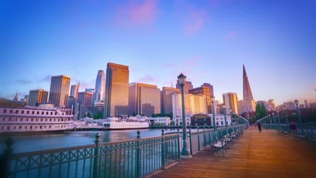 San Francisco. Bay. Pier. Skyline