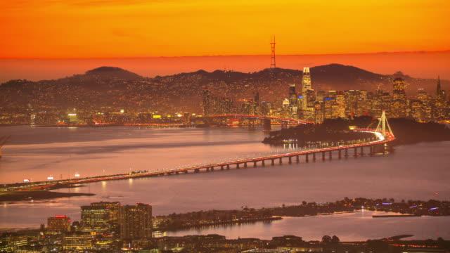 San Francisco, CA Bay Sunset